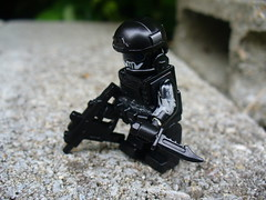 Ghost Recon Urban (Sebastian Weird) Tags: urban black call lego duty ghost knife camo sniper custom sec vector spec ops commando tactical recon brickarms minifigcat