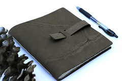 A Little Something in Leather (Tiger Food Press) Tags: leather writing notebook handmade journal journaling tigerfoodpress