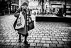 Frailty. (Mister G.C.) Tags: blackandwhite bw image streetshot streetphotography candid people photograph monochrome urban town city old elderly frail frailty woman lady female eyecontact gritty zonefocus zonefocusing snapfocus ricoh ricohgr pointshoot mistergc schwarzweiss strassenfotografie glasgow scotland britain greatbritain gb british uk unitedkingdom europe