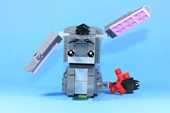 07_Eeyore (bbchai) Tags: winnie pooh tiger piglet eeyore lego brickheadz block head disney moc