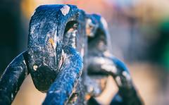 Chains (Maria Eklind) Tags: macromondays closeup iron chain madeofmetal metal malmö skånelän sverige se