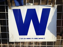 Win? (k.james) Tags: chicago sign baseball w letter northside cubs wrigleyfield alphabet win ww wrigley lose oneletter chicagocubs winning cubbies wrigleyville worldseries mlb ronsanto kenthenderson harrycaray chicagosign letterw erniebanks kjameshenderson chicagocubswin