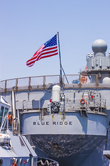 Blue Ridge Flag (rokclmb) Tags: blue japan boat ship flag navy ridge tugboat tug seventh fleet 7th usnavy base blueridge yokosuka usflag 7thfleet yokosukajapan seventhfleet cfay yokosukanavybase cnfj rokclmb jessederiksen