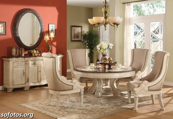 Salas de jantar decoradas (152)