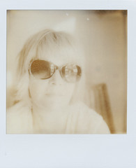Self (~ Meredith ~) Tags: old film polaroid sx70 wilson meredith gen px100 may25 2013 impossibleproject impossiblemoment