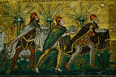Ravenna - Three Wisemen - 12-01-12 (mosley.brian) Tags: italy italia mosaic threewisemen threekings ravenna basilicaofsantapollinarenuovo