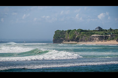 In the middle of waves (jeff_006) Tags: ocean bali holiday seascape beach indonesia landscape waves surfer indian olympus isalnd em5