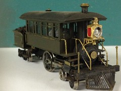 Brass HO scale 4-2-4 Inspection Engine (photo 2) (bslook1213) Tags: ho brasslocomotives