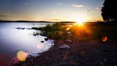 Solnedgng Vid Maln (mr_pentaxian) Tags: sunset simon water pentax sweden sverige k5 morn mal nd1000