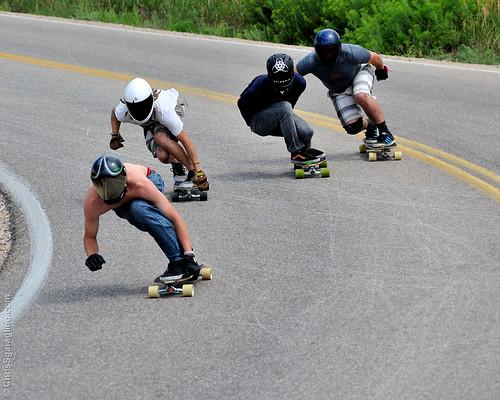 Taking the Fort II - Longboard Race