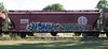 Quest/Yesh (quiet-silence) Tags: railroad art train graffiti railcar graff quest hopper freight bnsf uaa yesh fr8 bnsf403775
