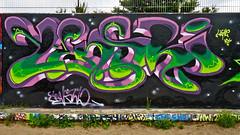 Space Jam Laak 18 Aug. 2013 (Akbar Sim) Tags: holland netherlands graffiti nederland denhaag thehague spacejam laak agga 2013 waldorpstraat akbarsimonse hoflaak akbarsim
