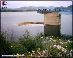 16  -  -  | The Spillway in 16 october dam - Lattakia - Syria (Young syrian's Lens -   ) Tags: winter lake nature water river spring dam ngc syria 16 siria   lattakia latakia            16