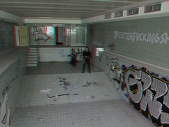 Villa number 10 3D photo anaglyph (Stereomania) Tags: urban house abandoned germany stereoscopic stereophoto stereophotography 3d decay exploring anaglyph number stereo forgotten villa ten exploration derelict ue urbex