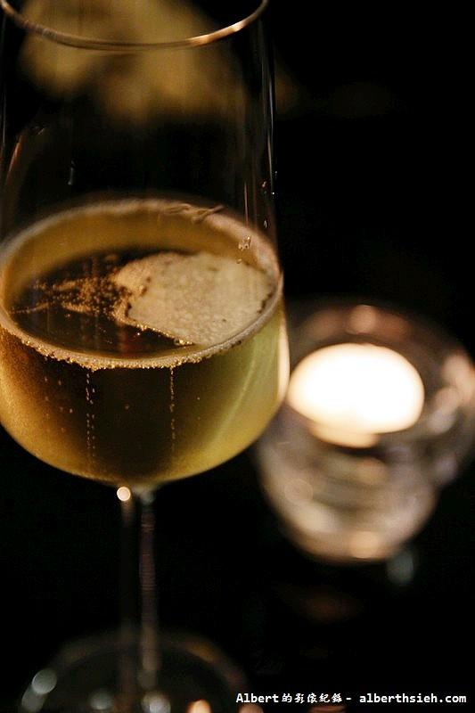 【法式異國料理】台北大安.松露之家:餐前香檳酒