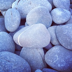 Like pebbles on a beach (Livesurfcams) Tags: pebbles greencliff uploaded:by=flickrmobile flickriosapp:filter=nofilter devoniphone