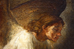 REMBRANDT Harmensz. van Rijn, Josphs Dream, 1650 (Ondra Havala) Tags: wood old trip art museum canon painting gallery budapest arts master fina frame rembrandt pisture 40d szepmuveszeti