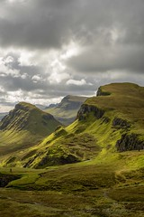 Bioda Buidhe and Cleat seen from the Quiraing (outonalymm) Tags: cloud skye clouds landscape scotland nikon isleofskye cleat d800 quiraing biodabuidhe