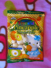 Hello Kitty Tropical Pineapple Marshmallow sweets (Jay Tilston) Tags: hello kitty sweets