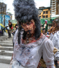 Would you come with me? (CloudPhotoz) Tags: city place montral zombie walk montreal event horror spectacles hdr marche ville horreur 2013 vennement