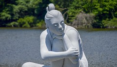 Selene 335 (Nathan_Arrington) Tags: selene maríagamundí kettlepond roman luna greek mythology ancient goddess moon deity woman people lakemaury nolandtrail aquatic naval museum nature water pond outdoor park garden lake light white green magic color scenic art history myth