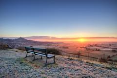 Glastonbury Mist (Smithys Art Pan) Tags: winter mist sunrise frost glastonbury somerset tor levels