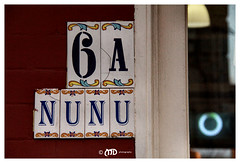 Nunu (La_Marghe) Tags: door london sign canon number tiles putney yabbadabbadoo canonefs18200mmf3556is eos550d