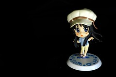Mio Akiyama In The Dark (Triyadi Wijaya) Tags: anime closeup toy sony sigma f45 figure mio product 30mm nex nex5n