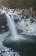Snoqualmie Falls Iced, Snoqualmie, WA (2) (Scott_Nelson) Tags: winter ice water washington unitedstates cascades snoqualmiefalls snoqualmie