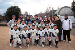 6年生親睦 サヨナラ練習試合@国立天文台野球場