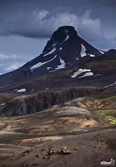 KERLINGARFJÖLL (euskadi 69) Tags: trek track ísland islande kerlingarfjöll loðmundur anawesomeshot névés ddelionphotojournalist fluomosses iceland2013 daviddelion