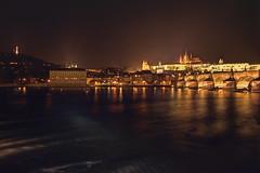 Prague 2013 (willhowecreative) Tags: bridge winter night canon landscape december prague nye january charles praha most newyearseve hdr 2014 karlv 1755mm 2013 650d efs1755mm