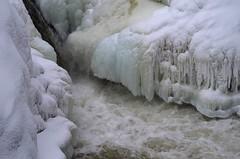Water, Snow & Ice #2 (Doundounba) Tags: winter snow ice river pentax hiver rivire falls neige glace chutes rawdon k01 chutesdorwin dorwinfalls pentaxm150mmf35