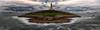 Middle-Earth.  La Tierra Media. (Emilio Rodríguez Álvarez) Tags: ocean longexposure sea © costa mer lighthouse abstract castle beach nature night faro island iso100 luces coast mar lightsandshadows cabo coruña magic horizon natur playa paisaje panoramic galicia cielo nubes nocturna lucesysombras crepusculo abstracto f8 olas seda isla ocaso castillo horizonte middleearth piedras oceano mágico abstrakt nocturno abstrait panorámica acoruña lacoruña inmensidad 70mm acantilados immensity converginglines parajenatural tolkiens horizontalformat canon2470l28 canon247028l oceanoatlántico nd8filter formatopanorámico costagallega noitiña horaazul filtrond8 canon7d formatohorizontal olétusfotos absolutegoldenmasterpiece latierramedia nd16filter 3´2seg