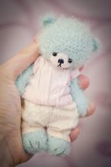 DSC_4320 (Eva Lavini) Tags: bear teddy knitted