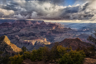 Grand Canyon Clouds and Light