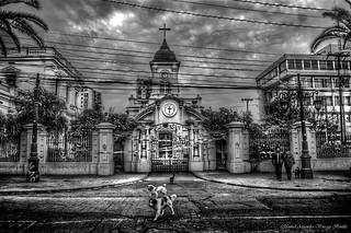 Santiago de Chile. Iglesia de Santa Lucrecia