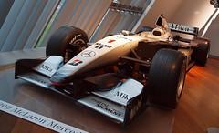 McLaren Mercedes MP4-14 (Hammerhead27) Tags: auto show car race mercedes benz technology display f1 1999 voiture racing safety mclaren formula1 brooklands worldchampion mikahakkinen mp414 mercedesbenzworld