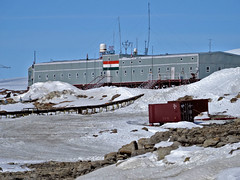 South Pole and Emperors. 2013 (icetrekker) Tags: antarctica southpole emperors emperorpenguins oasisguesthouse icetrek ericphilips tripolers