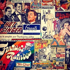Christian Montone - Vintage Collage Detail (Christian Montone) Tags: art ads graphics kitsch popart montone midcentury christianmontone instagram