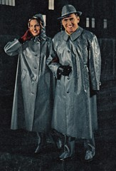 1958 Kleppermode (dykthom1000) Tags: fashion 1958 raincoat mode regenmantel kleppermantel kleppermode {vision}:{people}=099 {vision}:{face}=099 {vision}:{text}=055 {vision}:{outdoor}=0965