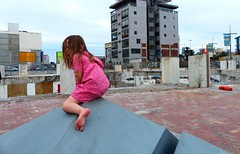 22 Feb 2011 earthquake 3rd annivesary (Jerryhattric) Tags: newzealand christchurch sculpture cbd demolitionsite earthquakedamage thirdanniversary 22february2011 christchurchearthquakesnz panasoniclumixdmcfz200