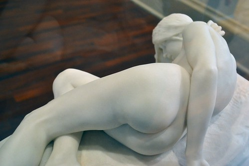 Frederick William Pomeroy (1856-1924) - The Nymph of Loch Awe (1897) above lower back, Tate Britain, Feb 2014