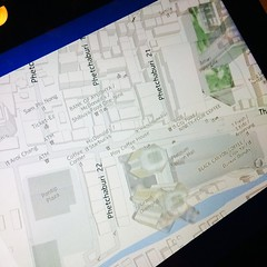 แผนที่ กทม. ของ Here Maps บน Windows 8.1 เป็น 3D หมดเลยนะ แจ่มมากๆ #heremaps #flashfly #mayflashfly