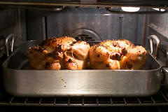 Lemon Thyme Roast Chicken (george.bremer) Tags: food chicken cooking oven roast 365 roasting fujixpro1