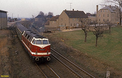 1986-04 Kubschtz (niek opdam) Tags: engine steam ddr railways gdr deutsche dampflok reichsbahn