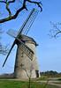 Bidston Windmill (2) (Andrew_D_Hurley) Tags: trees england tree bluesky birkenhead blueskies footpath wirral merseyside bidston bidstonhill bidstonwindmill wirralwalk wirrallandmark wirralfootpath bidstonwalk