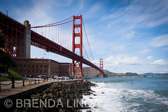 Golden Gate Bridge (Brenda Lindal) Tags: california park bridge usa canada mountains rockies gol