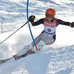 Zanete GEDRA of Latvia takes 2nd Place in the U16 Girls Slalom Race held on Whistler Mountain on April 6th, 2014. Photo by Scott Brammer - coastphoto.com - coastphoto.com