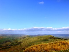 Mam Tor to Lose Hill (Lee M Wyatt) Tags: dark landscape hope countryside spring fuji district derbyshire hill peak valley edge april tor lose mam edale 2014 exr hs30 rushop